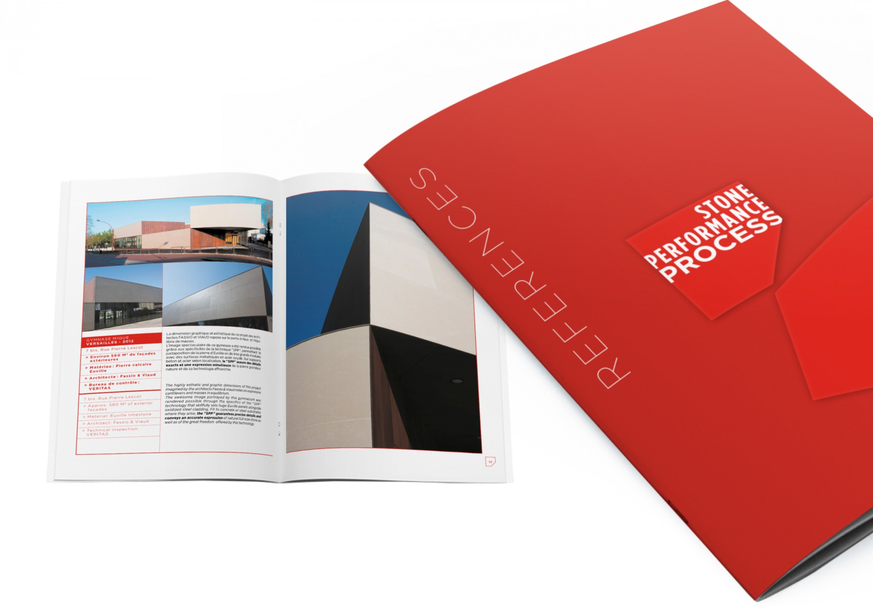 Brochure commerciale, réalisé par Keys Studio pour Stone Performance.