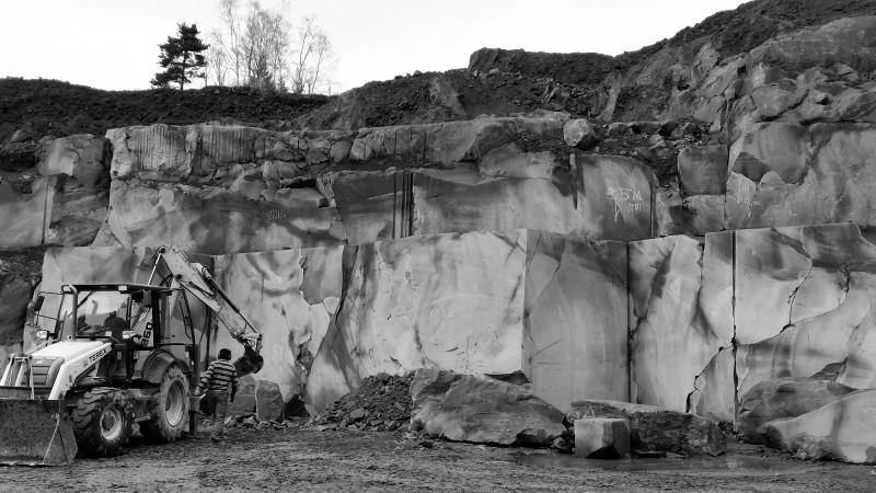 carièrre de marbre, BLANC CARRARE